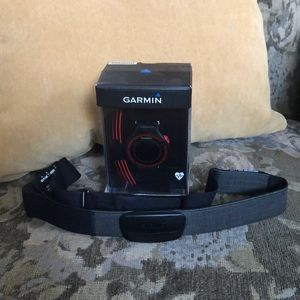 Red / Black Garmin 220 Forerunner